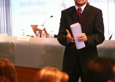 Conferenciante Pedro Amador en Esade