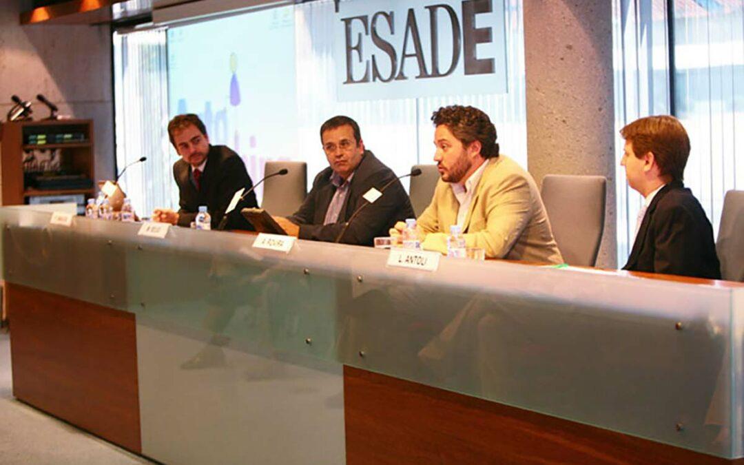 Presentación de Alex Rovira en Esade