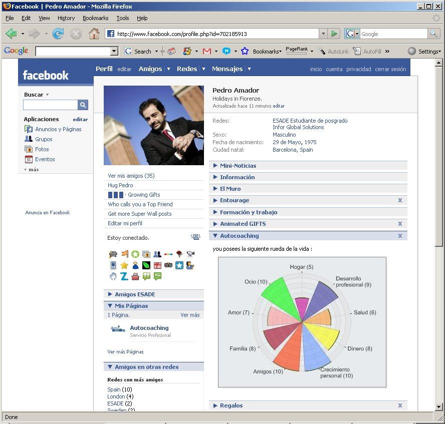 Perfil enFacebook