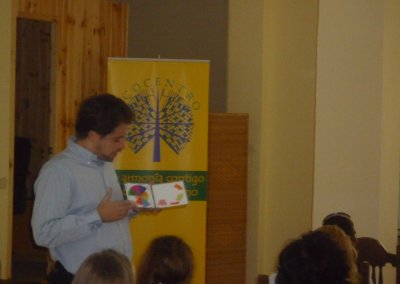 Pedro Amador presenta la Rueda de la Vida