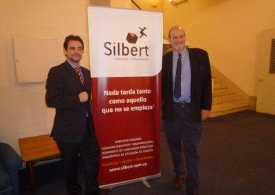 Pedro Amador y Gerardo Silbert