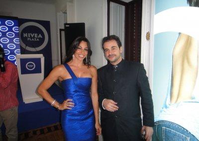 Con Marbelys Zamora presentadora de honor