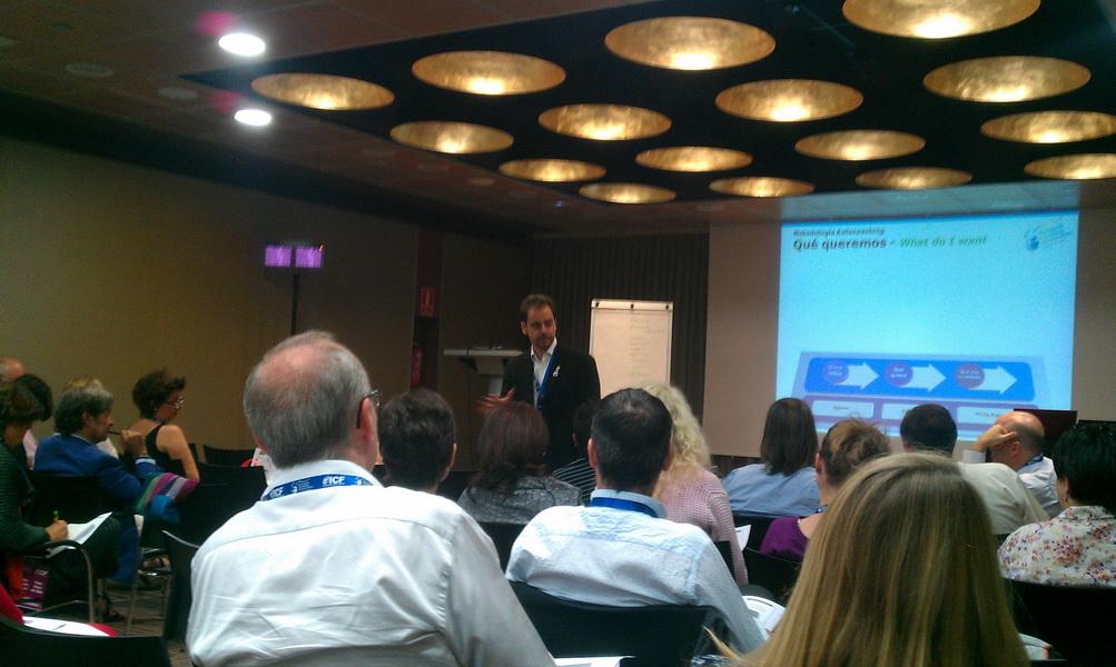 Autocoaching en el Congreso Europeo de Coaching ICF Madrid 2011