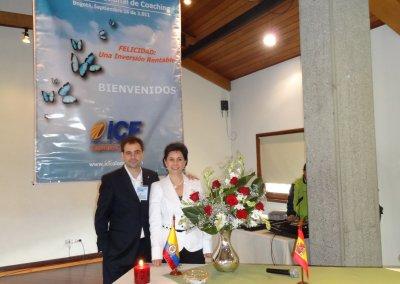 Con la Presidenta ICF Colombia, Isabel Jaramillo