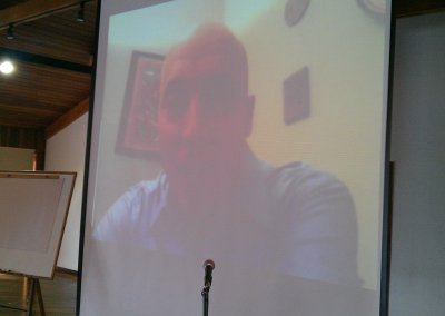 Damian Goldvarg por videoconferencia