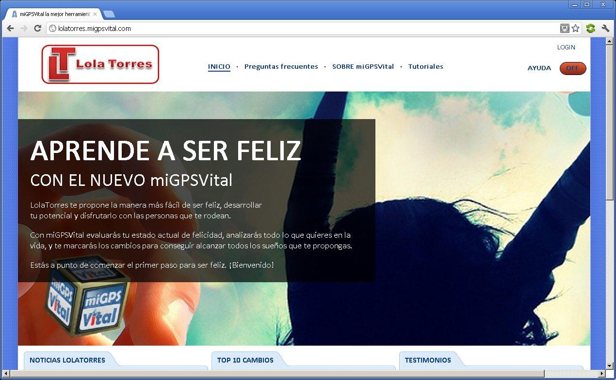 LolaTorres web profesional