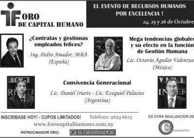 Happiness Play en el Foro Capital Humano Montevideo