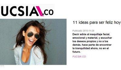 11 Ideas para ser feliz hoy
