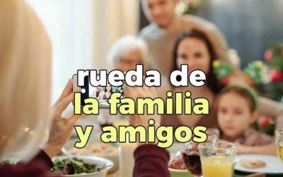 Coaching Relaciones: La Rueda de la Familia y Amigos