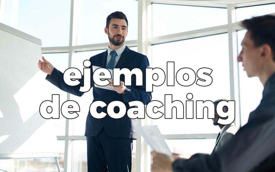 Ejemplos coaching personal